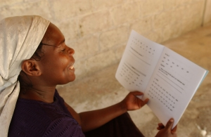 Women's Literacy Class Teaches Reading Along With Basic Business Skills, Haiti Copyright 2002 VGIF